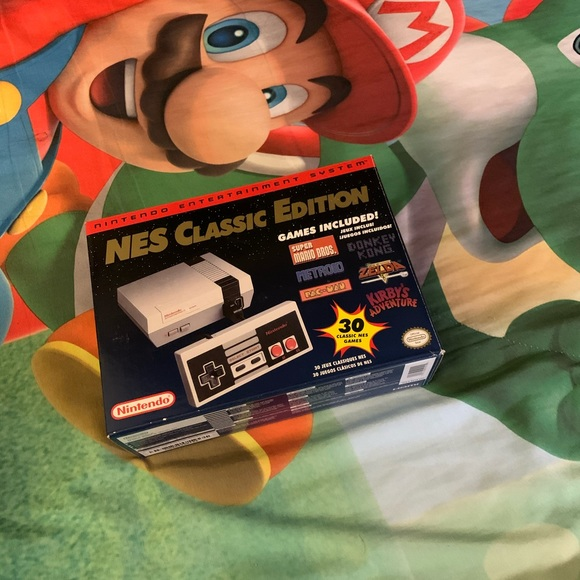 Nintendo Other - Nintendo Mini NES Classic Edition with 30 Games